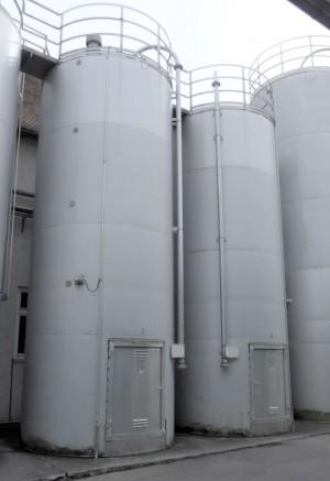 Silo 40.000 Liter aus V2A