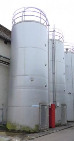 Silo 36.000 Liter aus V2A