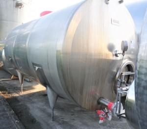Behälter 10.000 Liter aus V2A