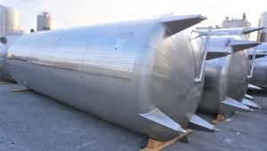 Behälter 27.420 Liter aus V2A
