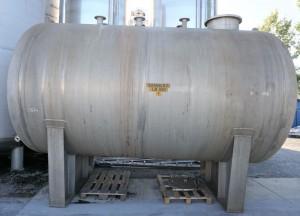 Druckbehälter aus V4A 21.000 Liter einwandig