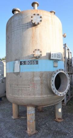 Druckbehälter 8.500 Liter aus V4A einwandig
