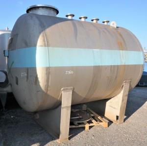 Druckbehälter 9.000 Liter aus V4A einwandig