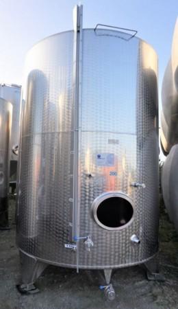 Behälter 11.000 Liter aus V2A einwandig
