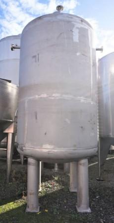 Druckbehälter 7.345 Liter aus V4A einwandig