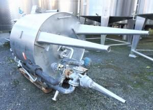 Behälter 1.355 Liter aus V2A temperierbar, isoliert