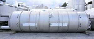 Druckbehälter 28.900 Liter aus V4A einwandig