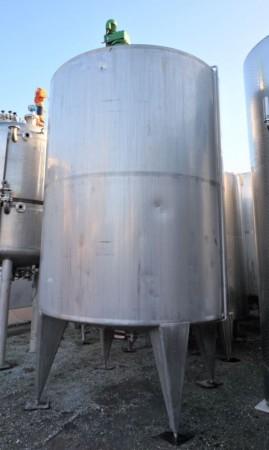 Behälter 12.000 Liter aus V4A temperierbar, isoliert