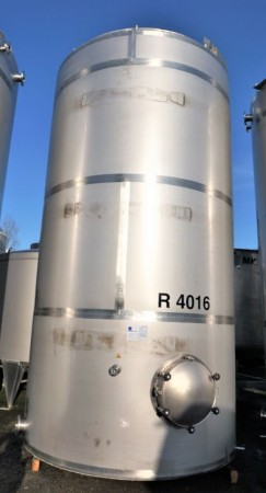 Behälter 28.400 Liter aus V4A, einwandig