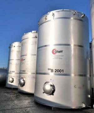 Behälter 45.100 Liter aus V2A, einwandig
