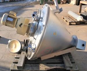 Behälter 200 Liter aus V2A temperierbar