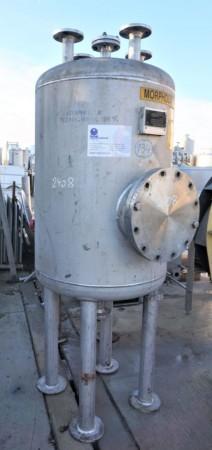 Druckbehälter 625  Liter aus V4A, einwandig