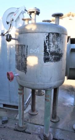 Druckbehälter 500 Liter aus V4A, einwandig