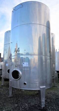 Behälter 12.000 Liter aus V4A, einwandig