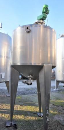 Behälter 800 Liter aus V2A, temperierbar, isoliert
