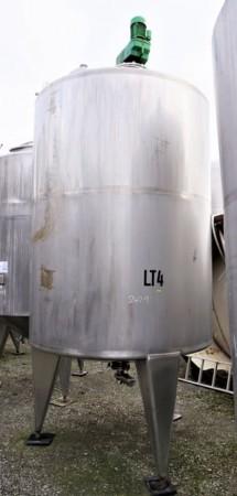 Behälter 4.000 Liter aus V2A, temperierbar, isoliert