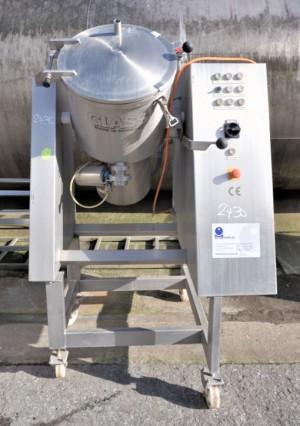 Mischer 80 Liter aus V2A einwandig