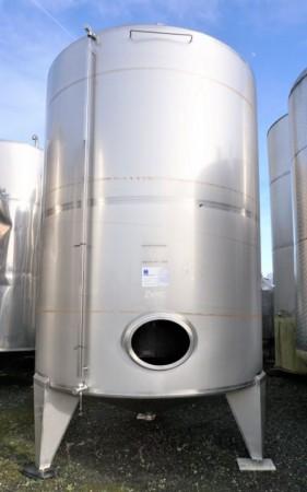 Behälter 12.500 Liter aus V2A einwandig