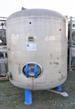 Behälter 5.000 Liter aus V4A einwandig