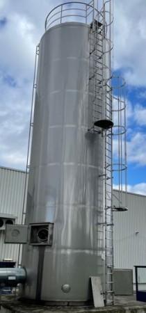 Behälter 75.000 Liter aus V4A temperierbar, isoliert