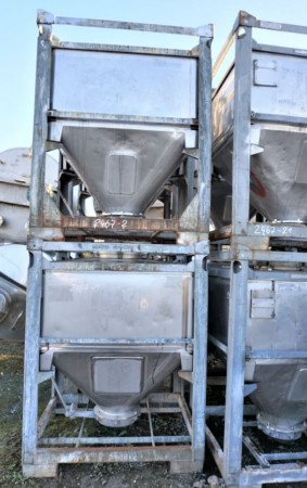 Container 800 Liter aus V2A einwandig, gebraucht
