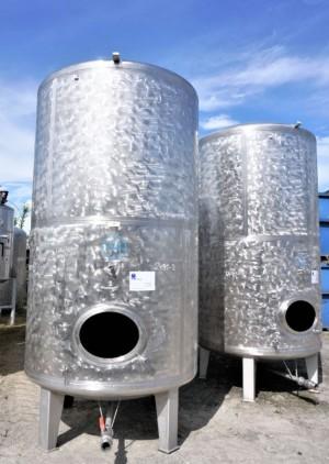 Behälter 5.000 Liter aus V4A einwandig, gebraucht