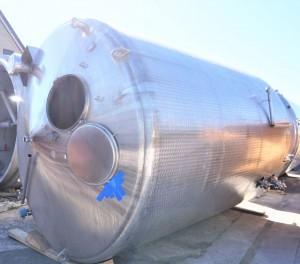Behälter 16.000 Liter aus V2A isoliert, gebraucht
