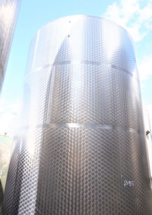 Behälter 19.000 Liter aus V2A einwandig, gebraucht