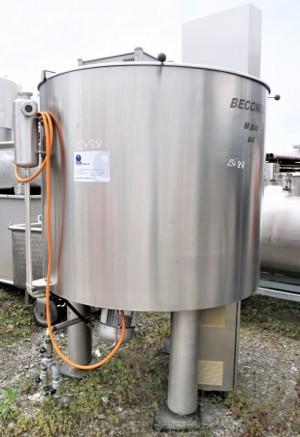 Behälter 1.097 Liter aus V4A isoliert, temperierbar