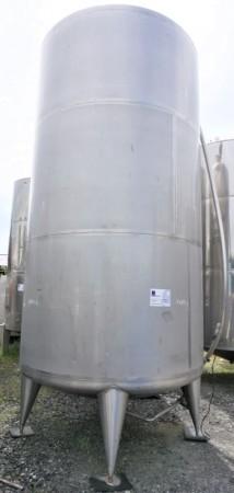 Behälter 11.000 Liter aus V4A einwandig, gebraucht