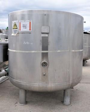 Behälter 4.150 Liter aus V4A temperierbar, gebraucht