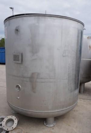 Behälter 3.800 Liter aus V4A temperierbar, gebraucht