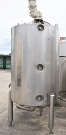 Behälter 1.000 Liter aus V4A isoliert, gebraucht