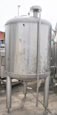 Behälter 1.200 Liter aus V2A einwandig, gebraucht