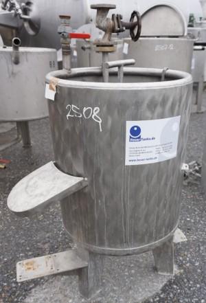 Behälter 150 Liter aus V4A, einwandig, gebraucht