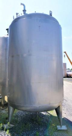 Behälter 5.000 Liter aus V2A isoliert, gebraucht