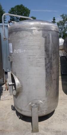 Behälter 975 Liter aus V2A einwandig, gebraucht