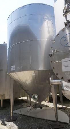 Behälter 12.000 Liter aus V2A isoliert, gebraucht