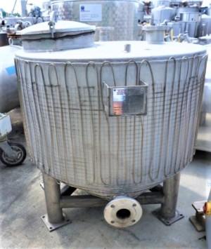Behälter 675 Liter aus V2A, gebraucht, einwandig