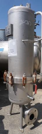 Filter 55 Liter aus V2A, gebraucht
