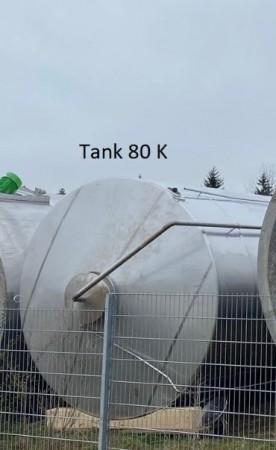 Behälter 100.000 Liter aus V2A isoliert, gebraucht