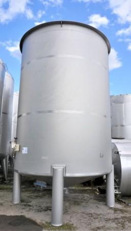 Behälter 29.000 Liter aus V2A einwandig, gebraucht