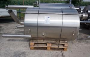 Behälter 1.800 Liter aus V2A einwandig, gebraucht