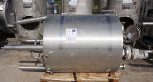 Behälter 900 Liter aus V2A einwandig, gebraucht