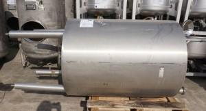 Behälter 1.000 Liter aus V2A einwandig, gebraucht