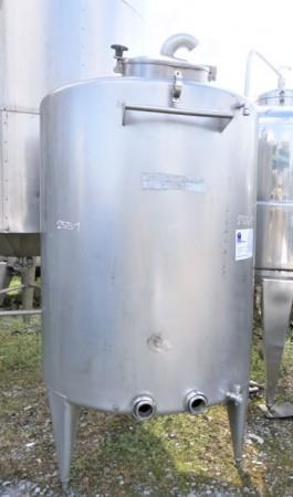 Behälter 1.500 Liter aus V2A einwandig, gebraucht