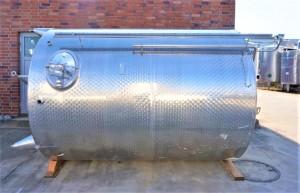 Behälter 11.000 Liter aus V2A einwandig, gebraucht