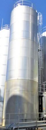 Behälter 150.000 Liter aus V2A isoliert (3 x 50 cbm), gebraucht