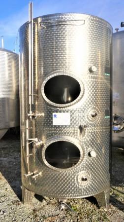 Container 800 Liter aus V2A, einwandig
