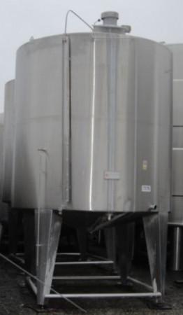 Behälter 12.000 Liter aus V2A, gebraucht, einwandig